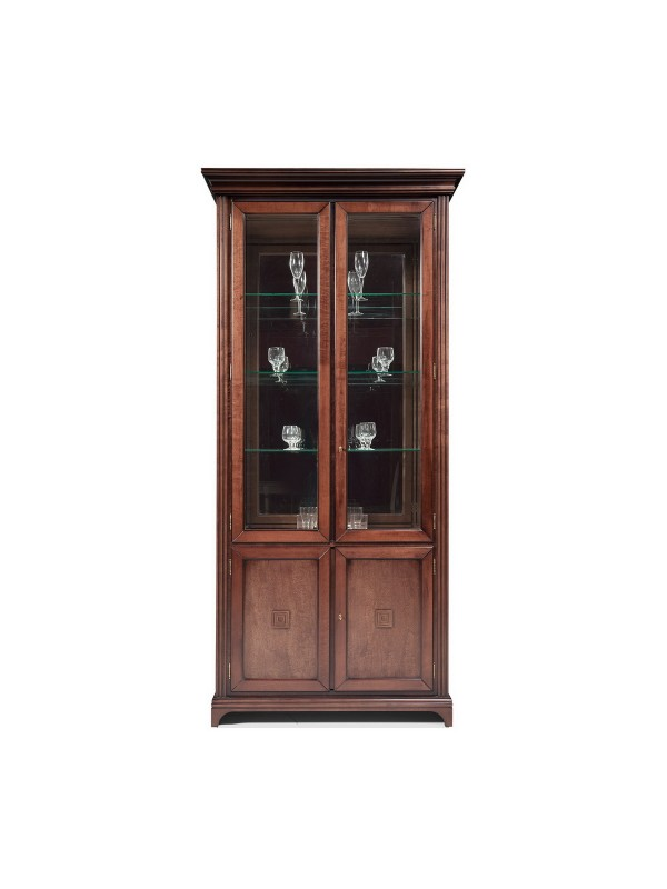 Шкаф-витрина Леванти ГМ 6612