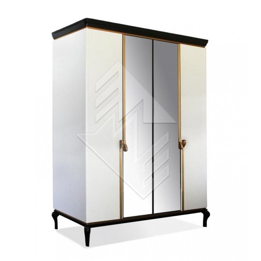 Шкаф для одежды Милана ММ-338-01/04-2 Молодечномебель  ММ-338-01/04-2