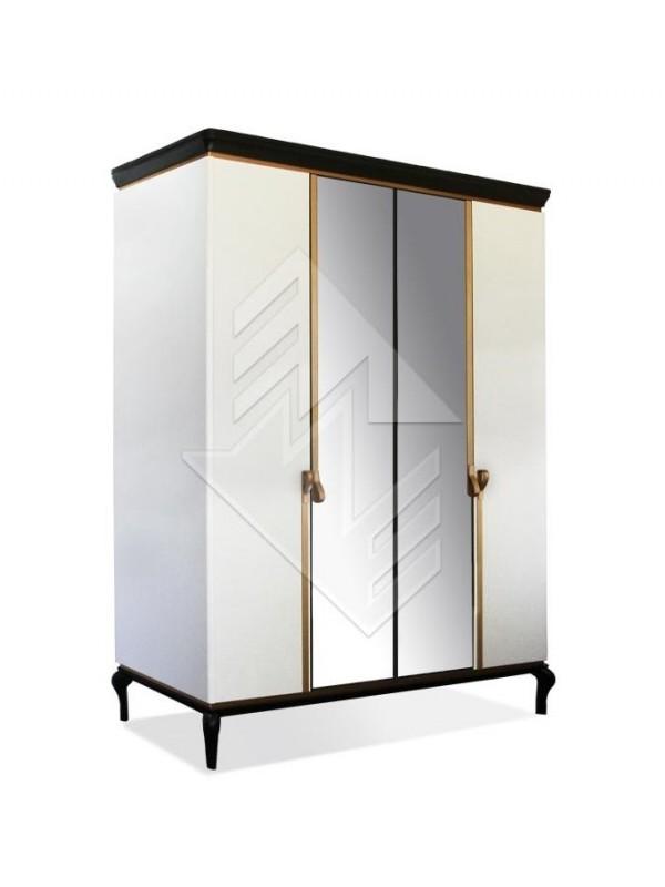 Шкаф для одежды Милана ММ-338-01/04-2