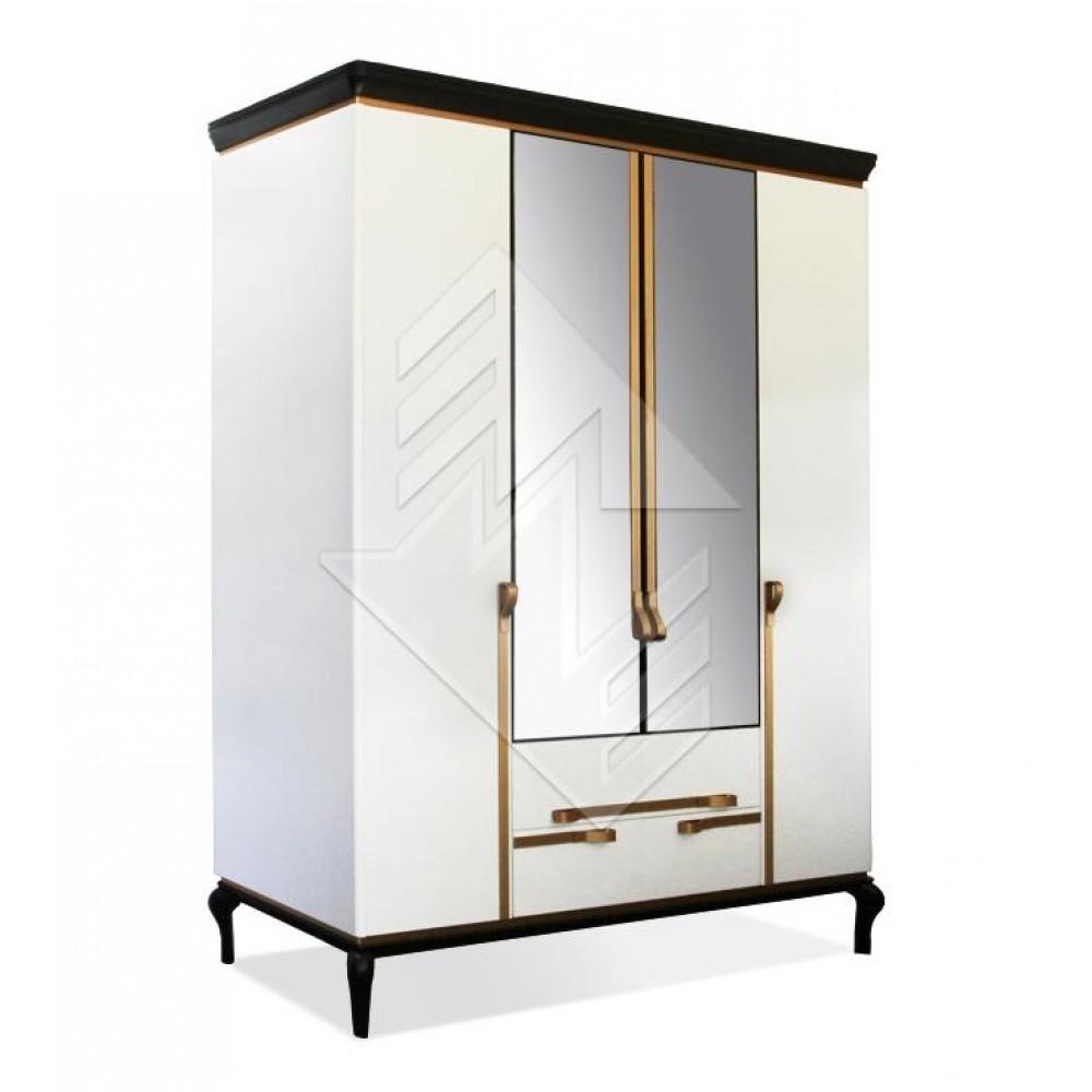 Шкаф для одежды Милина ММ-338-01/04 Молодечномебель  ММ-338-01/04
