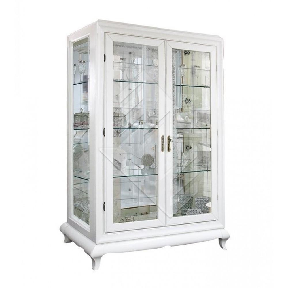 Шкаф с витриной Соната ММ-284-02 Молодечномебель  ММ-284-02