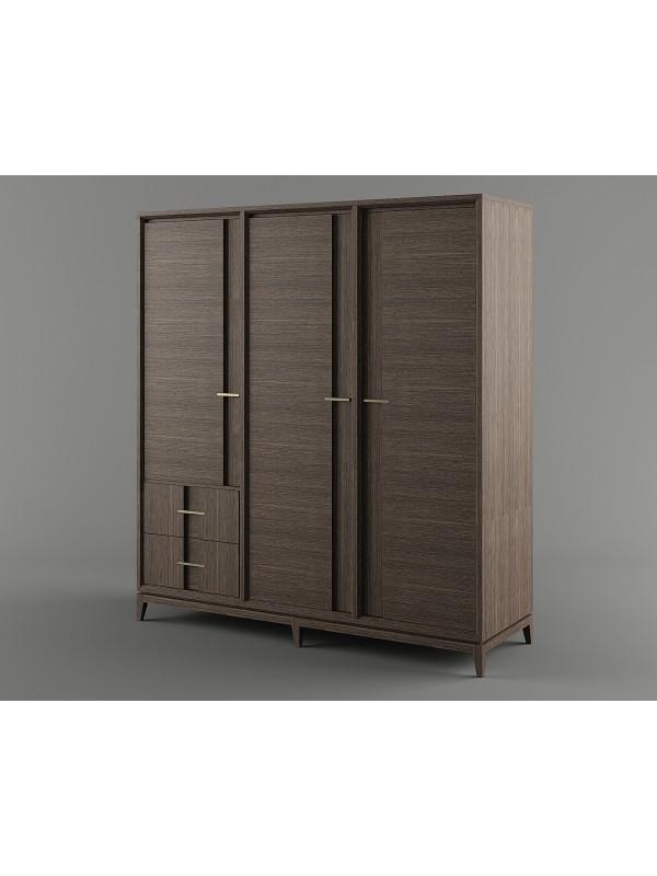 Шкаф для одежды B2D3 Бостон ВМФ-1638