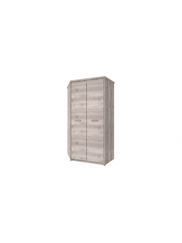 Шкаф угловой JAZZ 2D каштан найроби / оникс