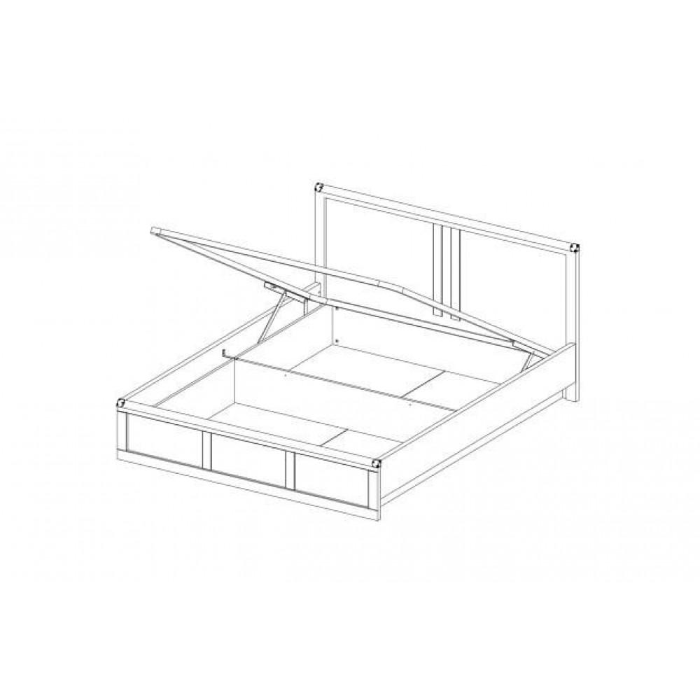 Кровать MAGELLAN 140 с подъемником Anrex  00000036320