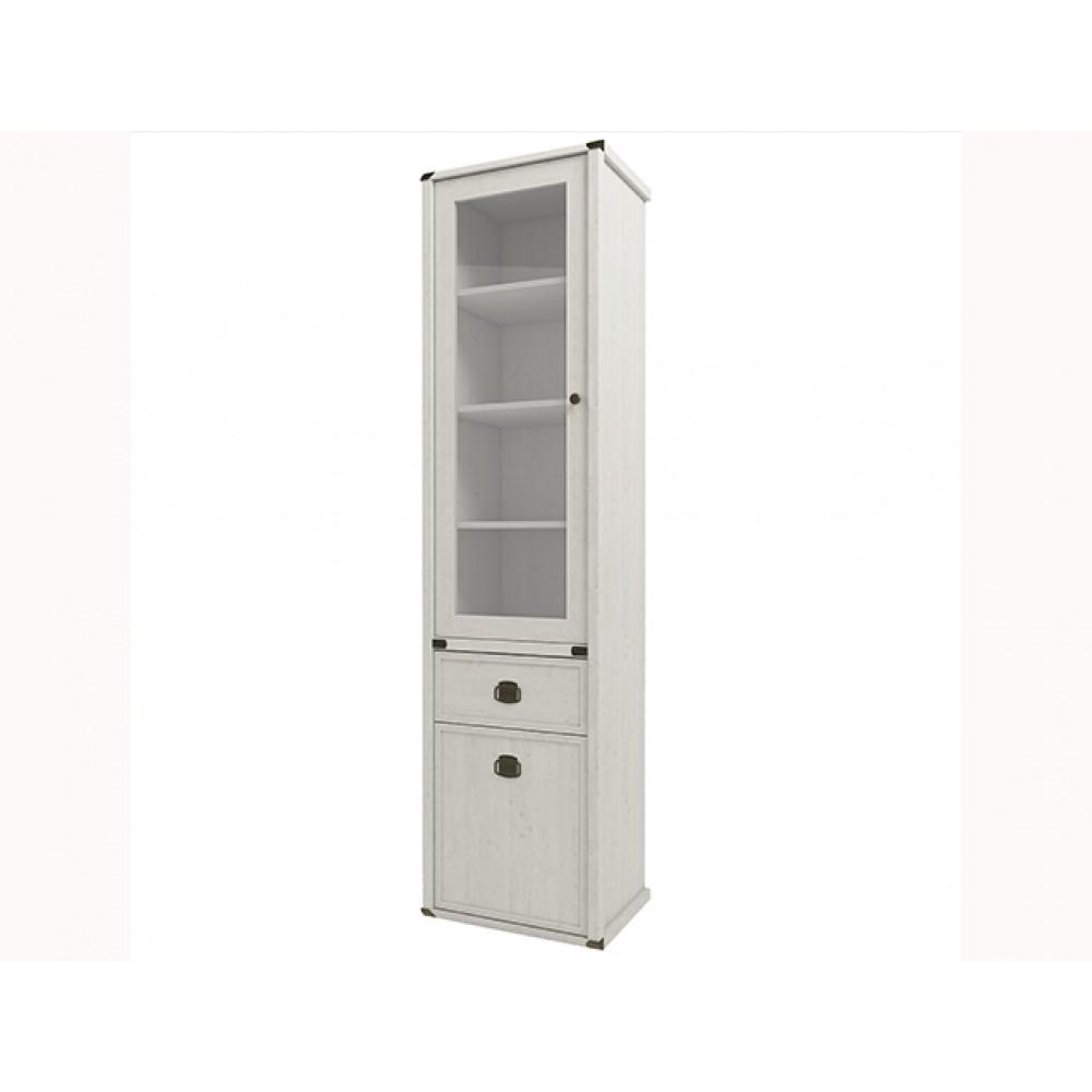 Шкаф MAGELLAN 1V1D1S с витриной  + возможна подсветка Anrex  00000036342
