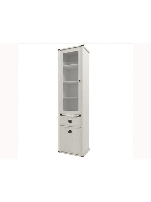 Шкаф MAGELLAN 1V1D1S с витриной  + возможна подсветка