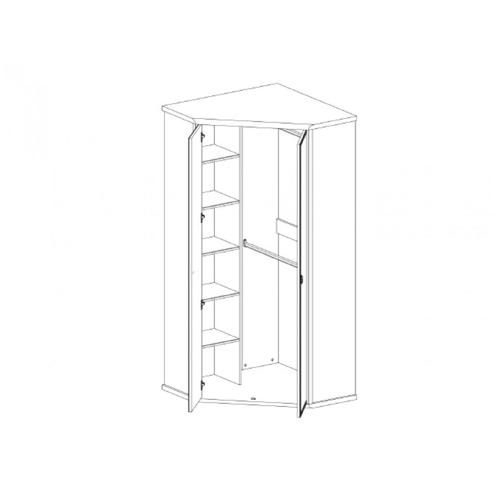 Шкаф MAGELLAN 2D угловой  Anrex  MAGELLAN 2D