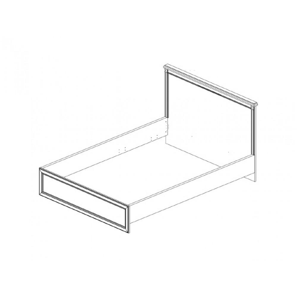 Кровать MONAKO 160 М с мягким изголовьем Anrex  MONAKO 160 М