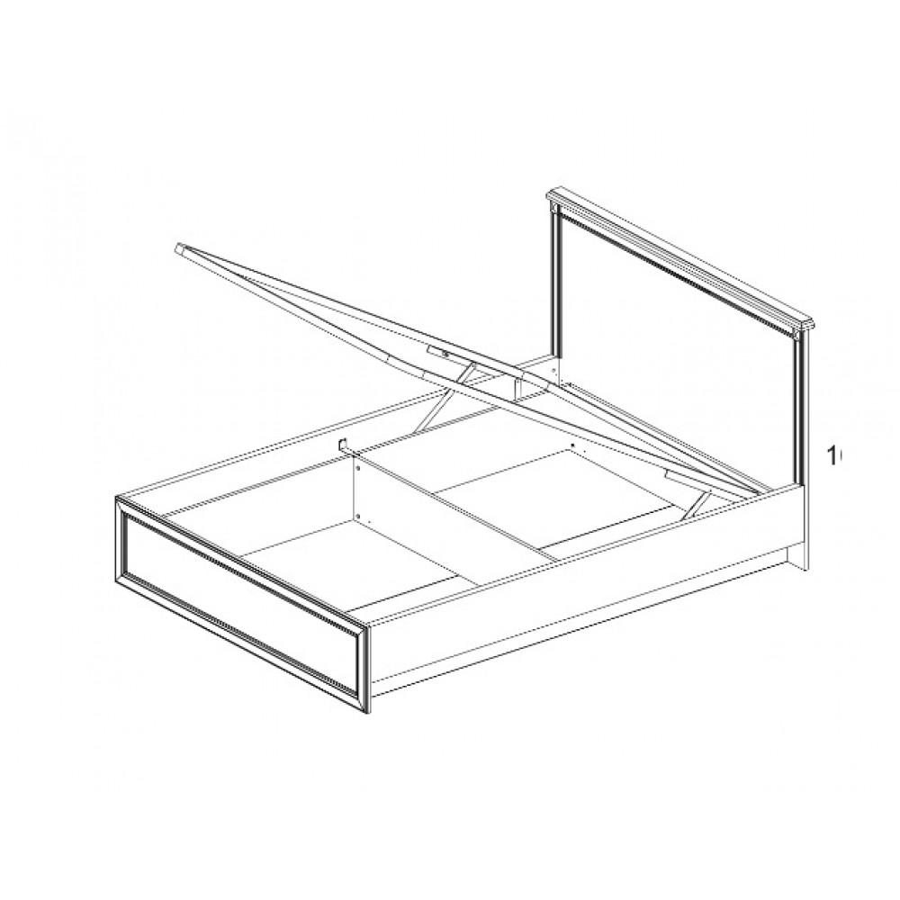 Кровать MONAKO 140 с подъемником Anrex  00000038440