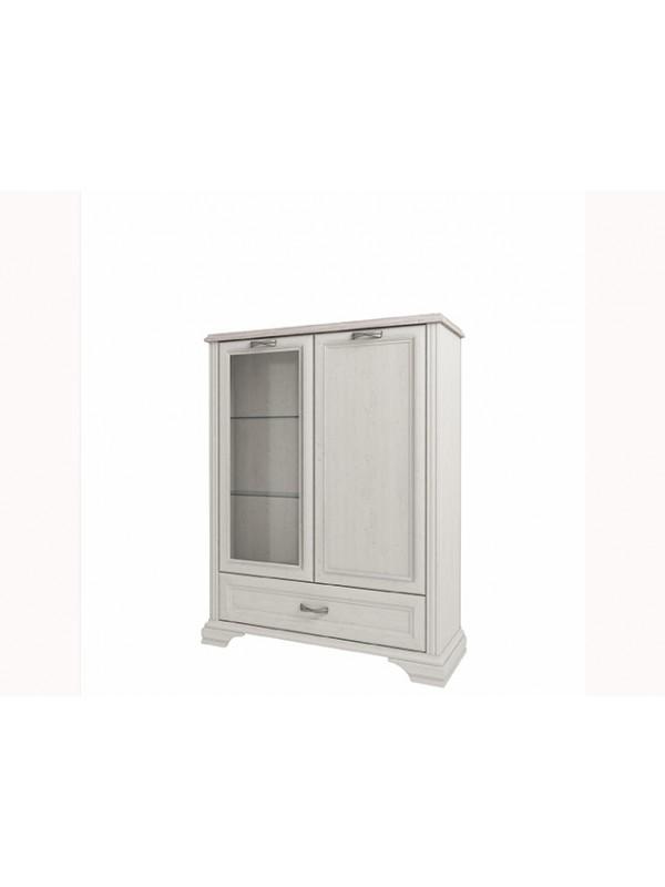 Шкаф MONAKO 1V1D1SL с витриной + возможна подсветка