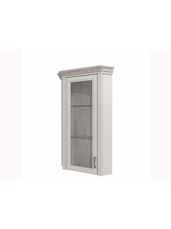 Шкаф MONAKO 1VU с витриной + возможна подсветка