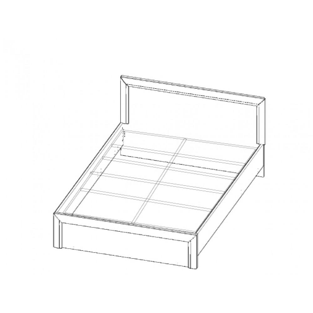Кровать OLIVIA 140 Anrex  00000036450
