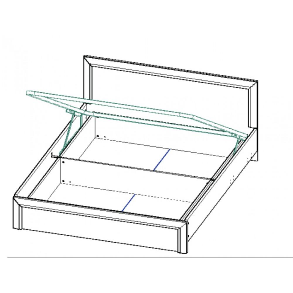 Кровать OLIVIA 160 с подьемным механизмом Anrex  OLIVIA KR160M