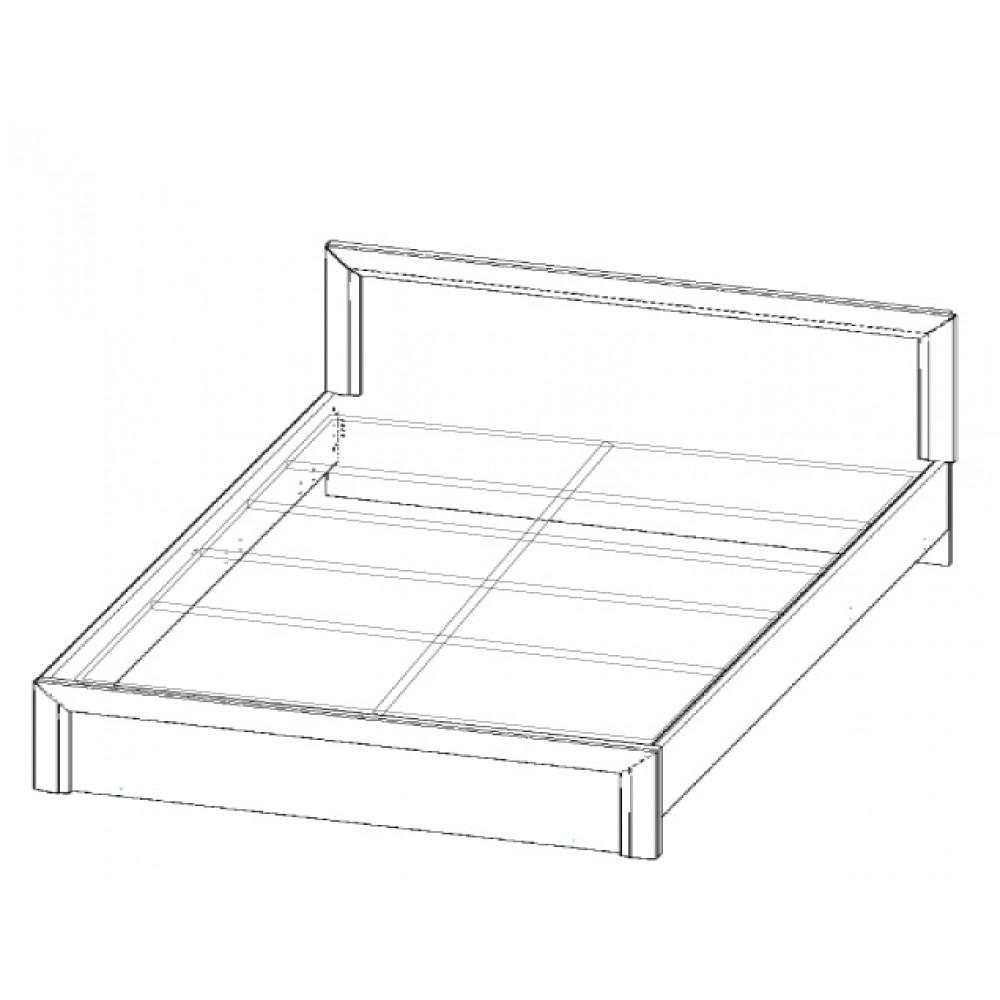 Кровать OLIVIA 180 Anrex  00000036454