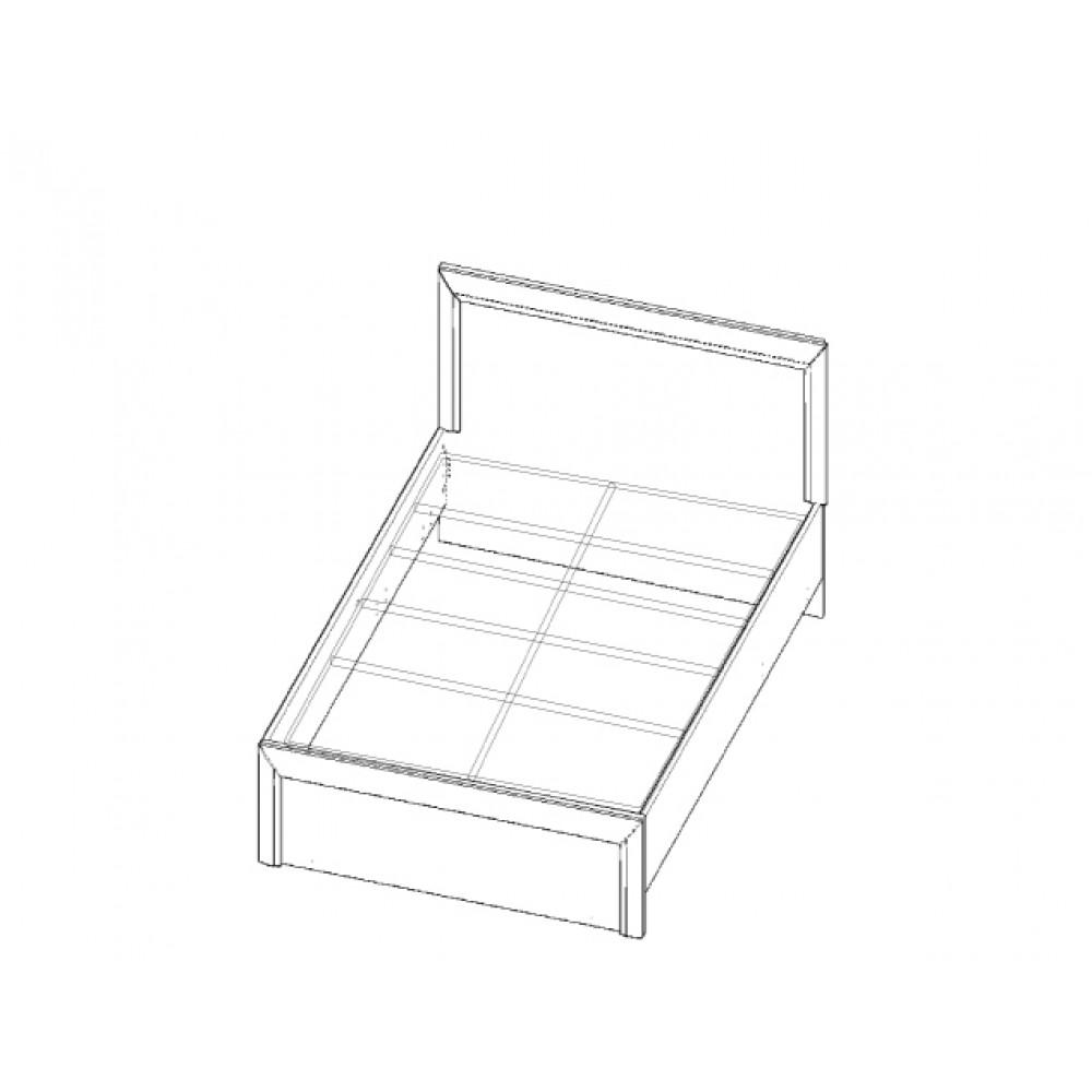 Кровать OLIVIA 120 Anrex  00000036449