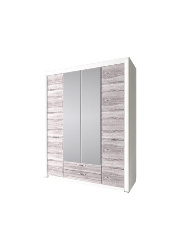 Шкаф OLIVIA 4D2S c зеркалом