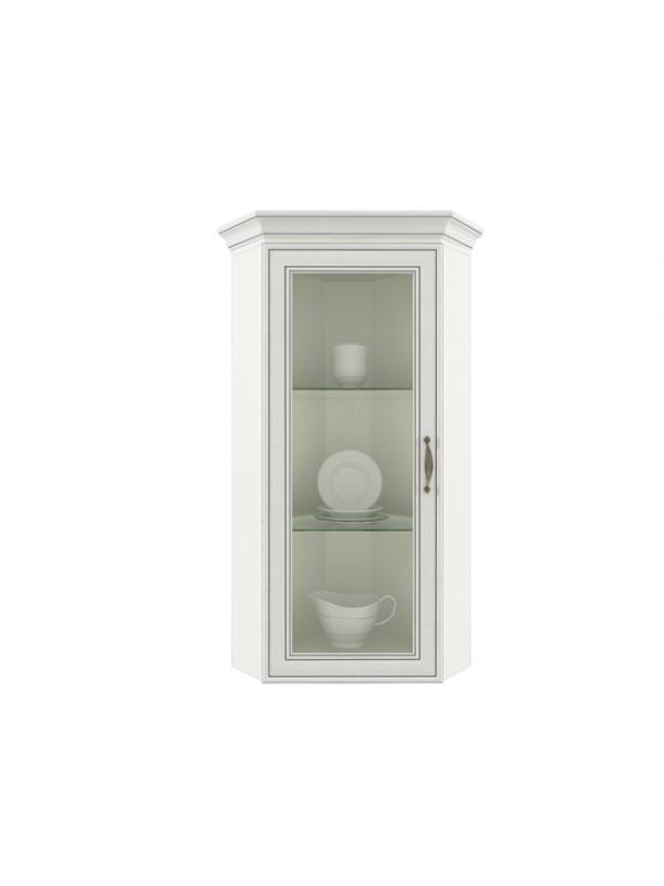 Шкаф TIFFANY 1VU с витриной  + возможна подсветка