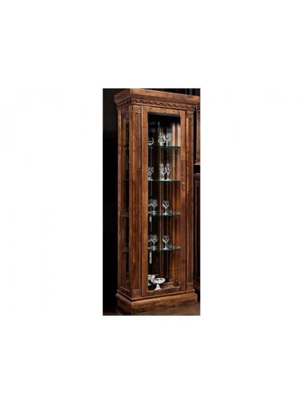 Шкаф с витриной Ривьера ГМ 5801-01