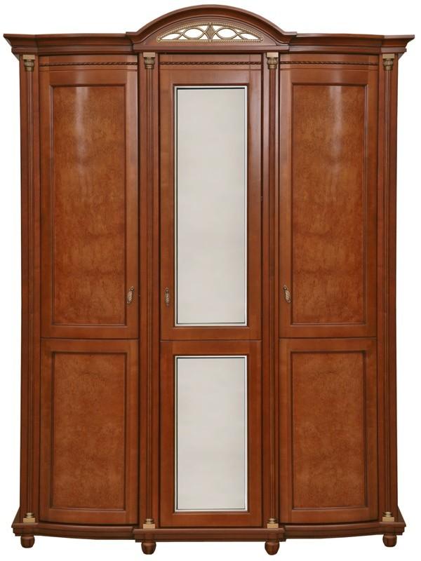 Шкаф для одежды «Валенсия 3» П254.10