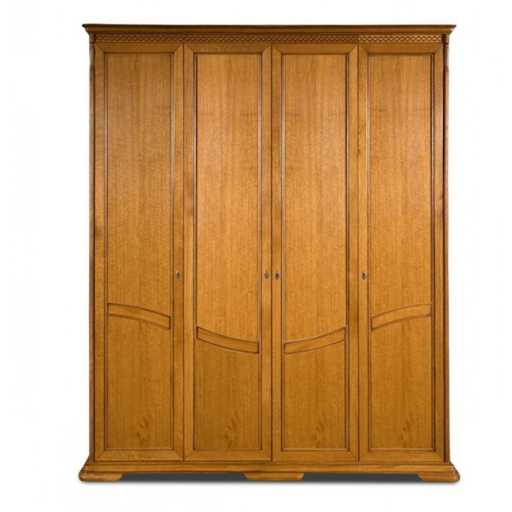 Шкаф для одежды Лика ММ-137-01/04Б Молодечномебель  00000043167