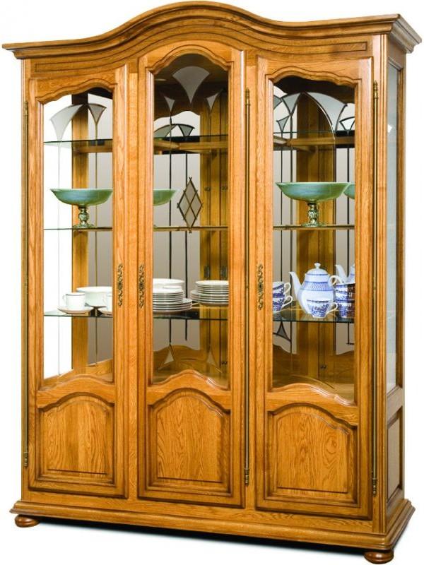 Шкаф с витриной Давиль ММ-126-15/03 (ст.декор)