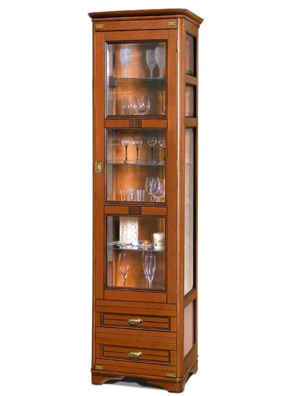 Шкаф с витриной «Марина» СКМ-001-41