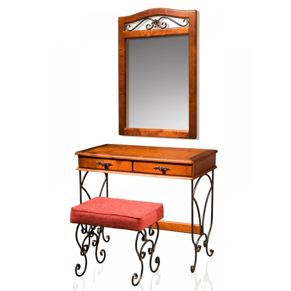Стол туалетный с зеркалом Глория-8 Лидская МФ  Глория-8