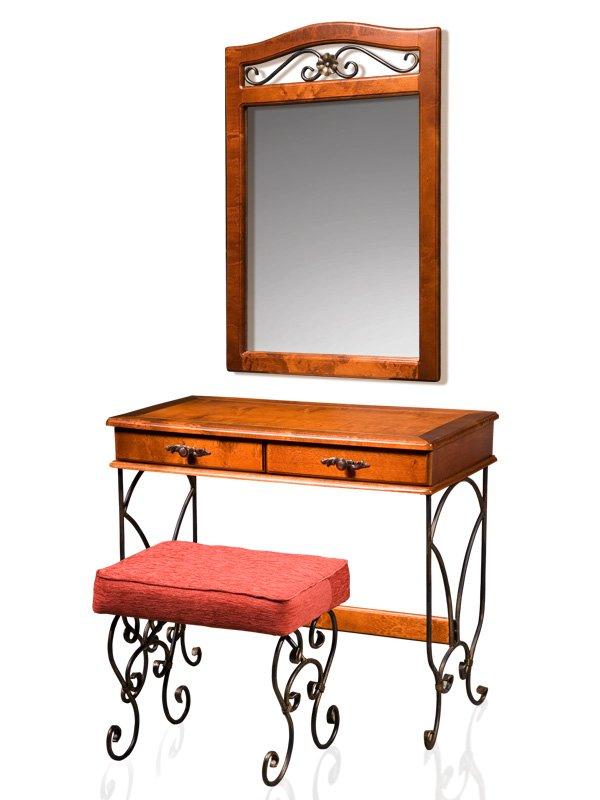 Стол туалетный с зеркалом Глория-8