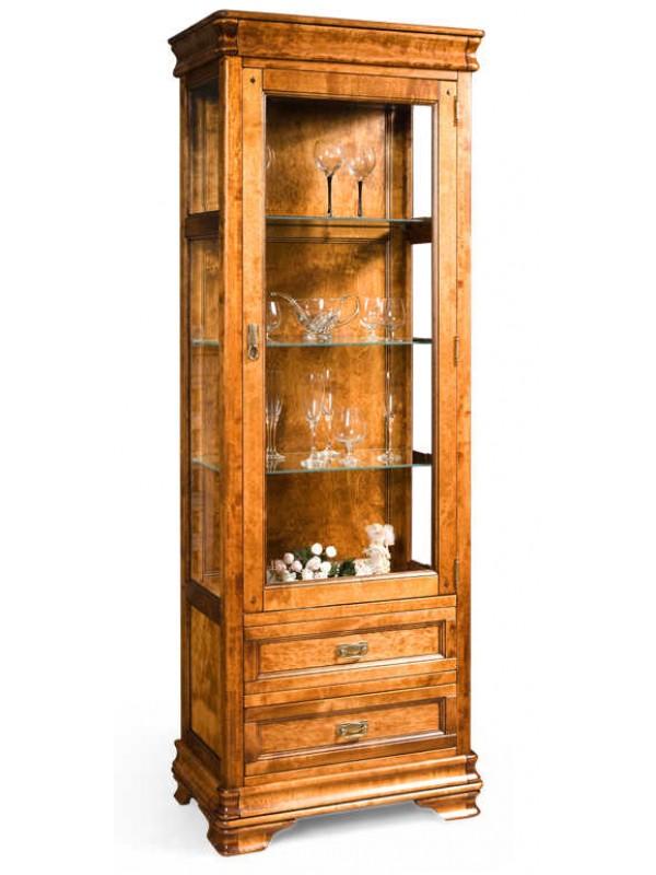 Шкаф с витриной «Маэстро» СКМ-002-25