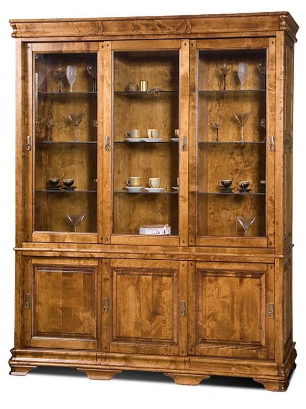 Шкаф с витриной «Маэстро» СКМ-002–05