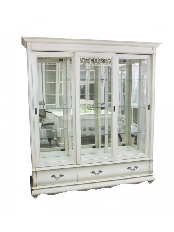 Шкаф с витриной Оскар ММ-210-03