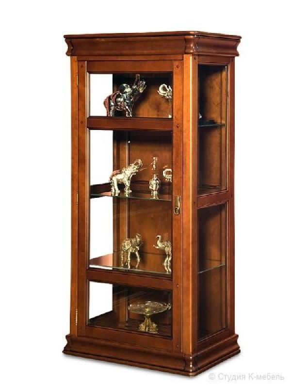 Шкаф с витриной «Маэстро» СКМ-002-04-01