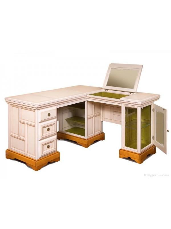 Стол угловой письменно-туалетный «Сальвина» СКМ-003-62-01