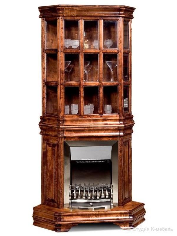Шкаф с витриной и элементом обогрева«Маэстро» СКМ-002-29-01