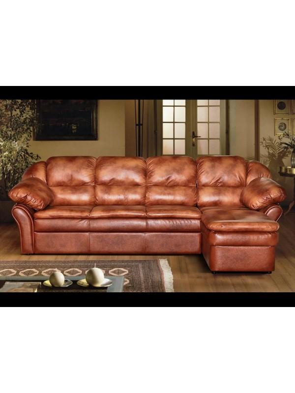 Угловой диван Луиза 1 (кожа)