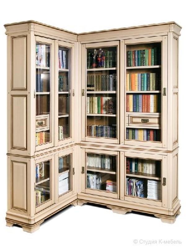 Шкаф с витриной «Маэстро» СКМ-002-59