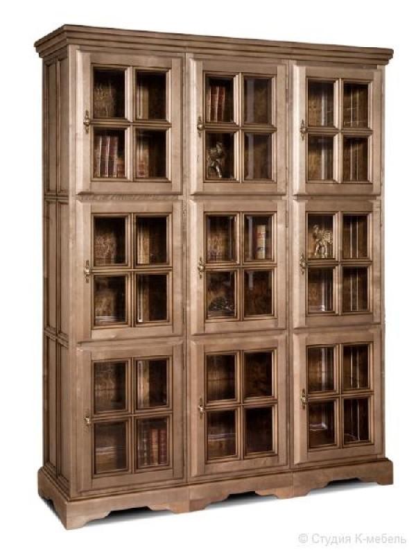 Шкаф с витриной «Сальвина» СКМ-003-30