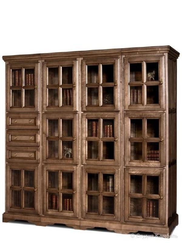 Шкаф с витриной «Сальвина» СКМ-003-31