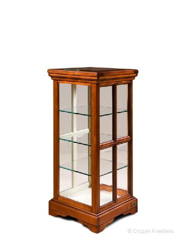 Шкаф с витриной «Сальвина» СКМ-003-44