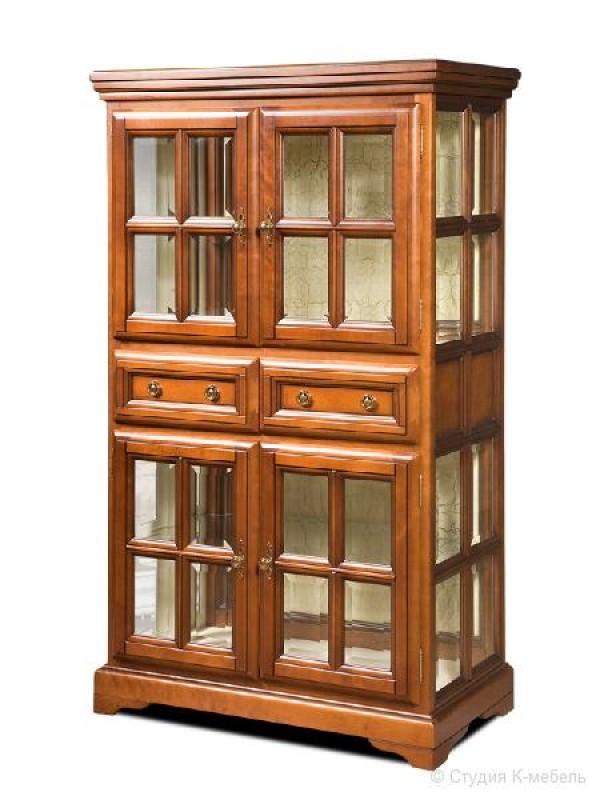 Шкаф для книг «Сальвина» СКМ-003-26