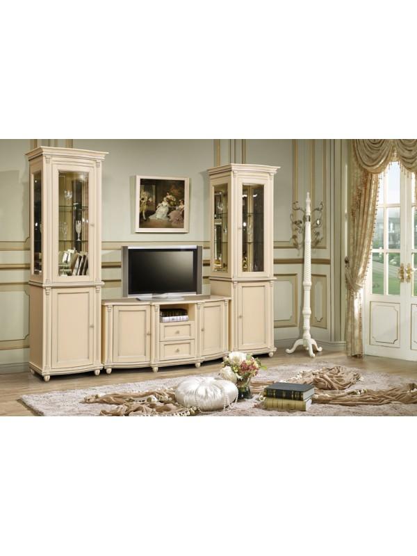 Мебель для гостиной Валенсия (античная темпера)