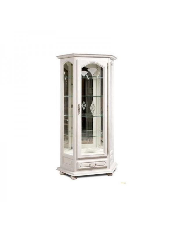 Шкаф с витриной Давиль ММ-126-13/01 (декор.стекло)