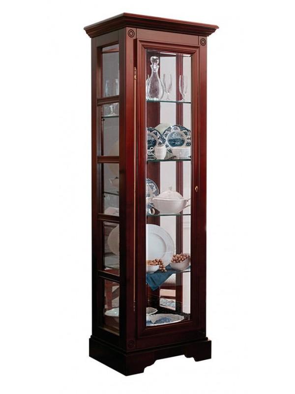 Шкаф с витриной Полонез ММ-174-05