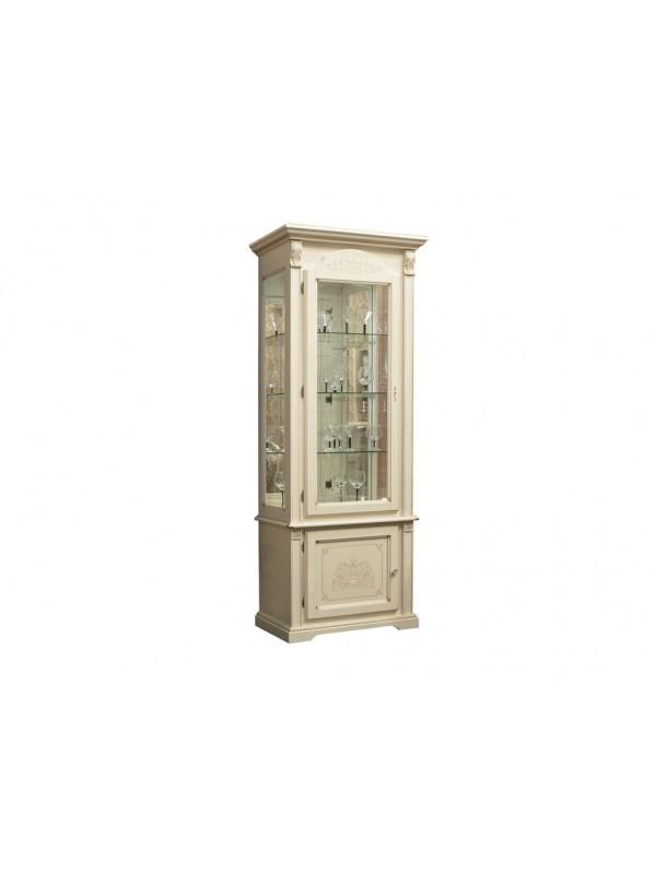 Шкаф с витриной Янина ММ-311-01