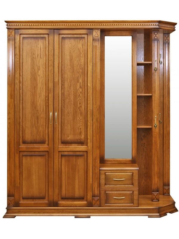 Шкаф «Верди Люкс 1» комбинированный для прихожей П433.01-01