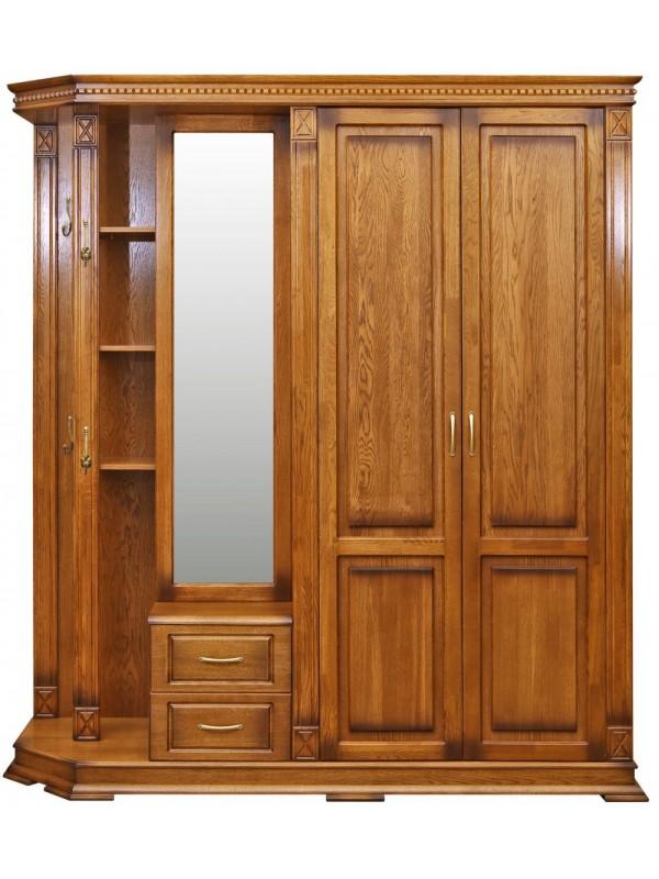 Шкаф «Верди Люкс 1» комбинированный для прихожей П433.01