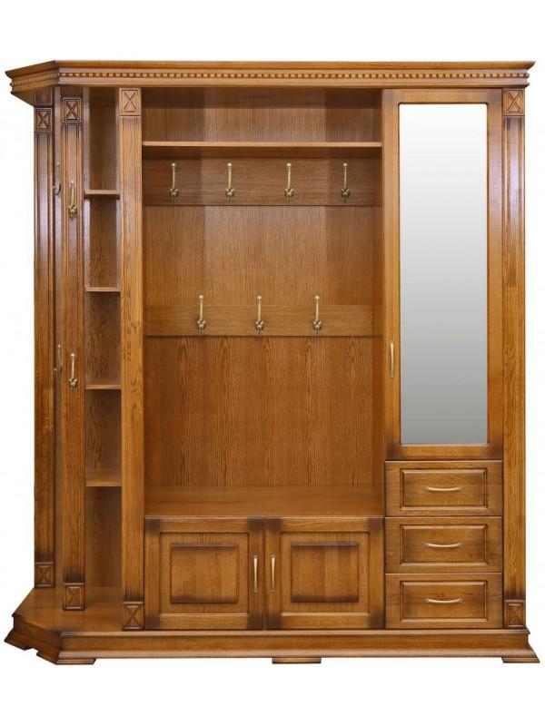 Шкаф «Верди Люкс 2» комбинированный для прихожей П433.02-01