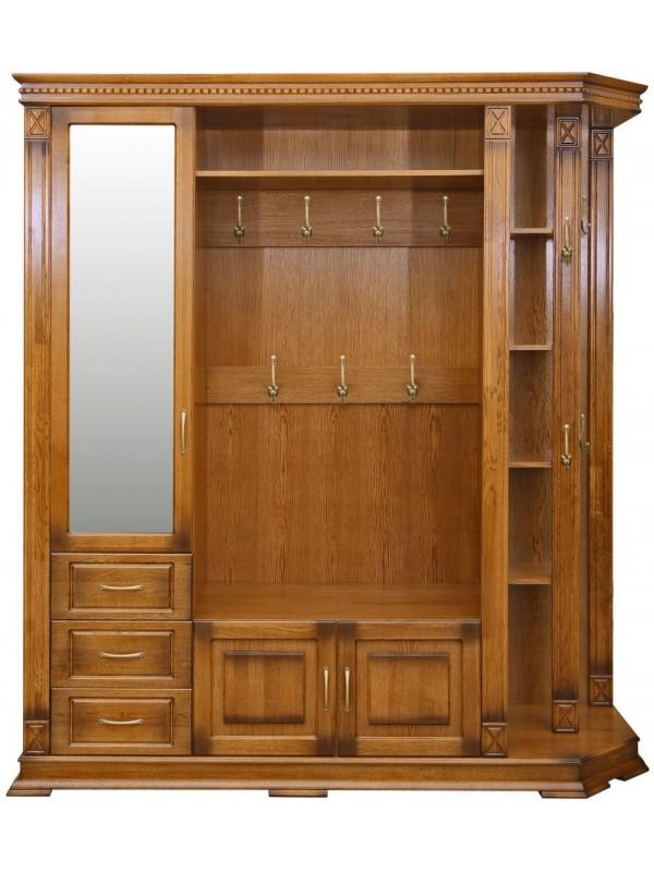 Шкаф «Верди Люкс 2» комбинированный для прихожей П433.02