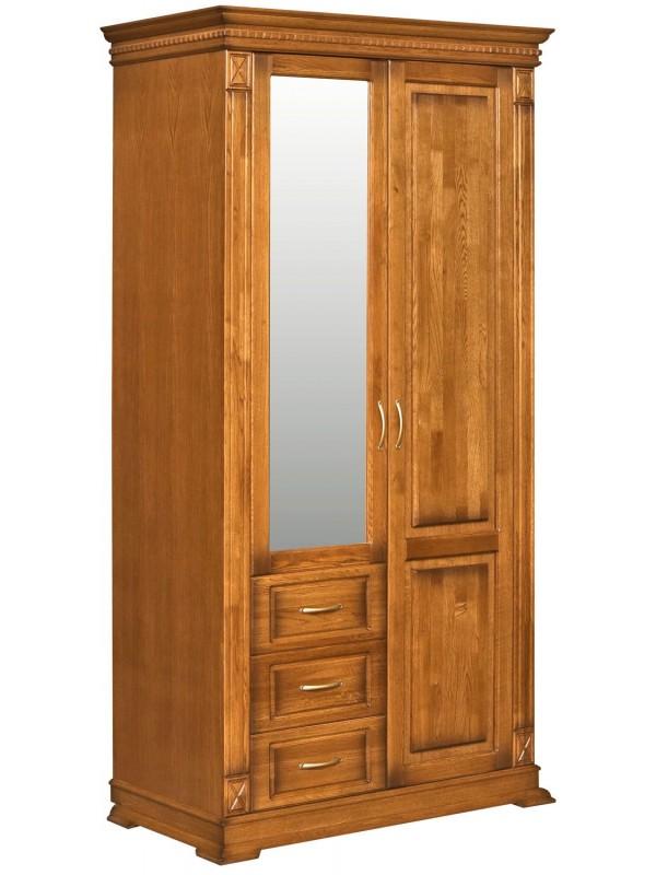 Шкаф «Верди Люкс» комбинированный для прихожей П433.12Z