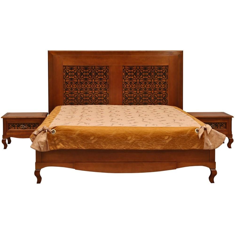 Кровать двойная «Видана Люкс» П445.02-1 Пинскдрев  П445.02-1